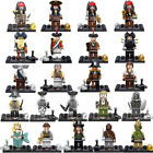 24Pcs/set Pirates of Caribbean - Jack Sparrow Mini Figures Compatible With Lego