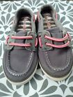 Hanna Andersson Toddler Boy Shoes Size 10 Grey Slip On Great Quality