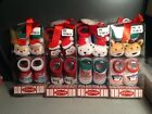 NEW IN BOX 2 PAIRS OF CHRISTMAS BABY BOOTIES SO DORABLE BRAND