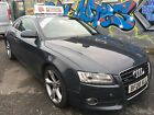 LARGER PHOTOS: Audi A5 3.0 TDi Quattro for spares or repairs.