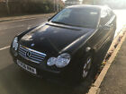 LARGER PHOTOS: 2006 MERCEDES C CLASS COUPE DIESEL START AND ADRIVE WELL AUTO 1 YEAR MOT