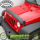 FormFit Textured Tough Guard Hood Protector For 1996 2006 Jeep Wrangler TJ