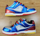 Nike 60 Air Zoom Oncore Premium Metallic Red Blue White Yellow Mens Shoes 105