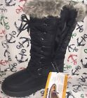 Womens Winter Boots Snow Fur Warm Insulated Waterproof Zipper Ski Shoes Sizes