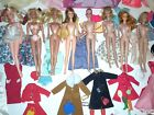 VINTAGE BARBIE HUGE LOT DOLLS CLOTHES ACCESSORIES 1960s 1970s STACEY MIDGE TNT