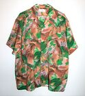 VINTAGE MENS 50s 60s Abstract Hawaiian Shirt Size XXL by Bowling