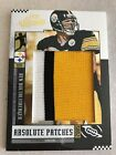 2005 Playoff Absolute Ben Roethlisberger Memorabilia Game Used Patch 25 25