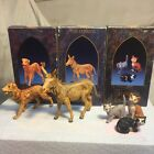 Fontanini The Dog The Donkey and Cats 5 Collection