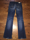 27 x 325 Womens AG Adriano Goldschmied The Angel Boot Cut Jeans 8 Year Vintage