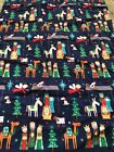 Nativity Hand Made Scene Crib Fitted Sheet And Standard Pillow Case