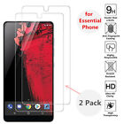 2pcs for Essential Phone PH-1 Tempered Glass Screen High Clear Transparent Film