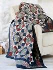 CATCHING SNOWFLAKES Quilt Pattern Piecing Assorted Prints from Magazine