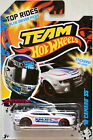 HOT WHEELS TEAM 2012 TOP RIDES 10 CAMARO SS POLICE WHITE W+