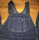 Vtg Sears Farmer Overalls Painter Sz 36x30 Union Made In USA