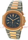 Patek Philippe 5980/1AR-001 Nautilus Chronograph Stainless Steel Rose Gold Watch
