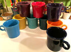 FIESTA WARE Coffee Mugs - Choose Colors / Fiestaware Coffee Cup - Ring Handle