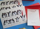 NIP PAPYRUS PENGUINS CHRISTMAS CARDS 14 cards env JOY glitter Wish you the best