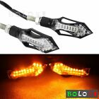 Motorcycle LED Turn Signal /Indicators Lights For KTM Kawasaki 8mm Hole Fairing