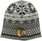 NHL Chicago Blackhawks Men's High Quality Acrylic Embroidered Beanie Winter Hat