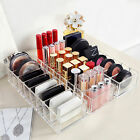 1pc Clear Acrylic Brush Lipstick Holder Make Up Organizer Cosmetics Storage Case