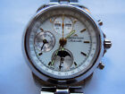 Maurice Lacroix Masterpiece Moonphase Chronograph Phase De Lune Boxes Papers