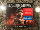 Iron Maiden The Book Of Souls Live Chapter New Sealed 2 Cd! Includes Figurine!