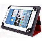 Pioneer 7 Inch Tablet Case - UniGrip Edition - RED - By Cush Cases