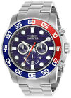 Invicta Pro Diver 22225 Men's Blue Round Analog Chronograph Date Stainless Watch