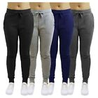 Womens French Terry Jogger Pants Loose Fit Cotton Blend Lounge Sweatpants  NWT