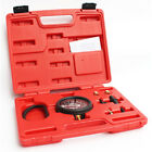 Car Truck Carburetor Valve Fuel Pump Pressure  Vacuum Tester Gauge Test Kit NEW