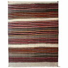 Old Navajo Banded Blanket Diyog Weaving