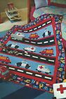 HIGHWAY HEROES Piecing Applique Quilt Pattern from a Magazine Quilting