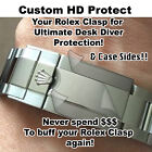 For Rolex Submariner HD Clear Protectors Main Clasp n Sides EBAY's HIGHEST RATED