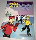 The Wiggles Winter Fun Sticker Stories Book Activity 2004 w 75 Stickers New