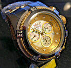 New Invicta Reserve 52mm Bolt Zeus Swiss Movt 0822 Mother Of Pearl Dial Gold IP