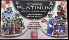 11 (Eleven) 2013 Topps Platinum Factory Sealed Hobby Football Boxes 3 Auto Box