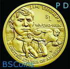 2018 PD NATIVE AMERICAN Sacagawea Jim Thorpe Dollar 2 Coin set PRESALE