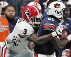 Roquan Smith Georgia Bulldogs Football Signed 8X10 Photo Rp Dawgs SEC Champs