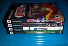 Lot of 4 PS2 Video Games High Rollers Casino, Pinball, Poker, Bowling