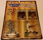 MICKEY MANTLE & JOE DIMAGGIO 1989 STARTING LINEUP NY YANKEES BASEBALL GREATS