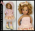 Spring outfit for Little Darlings Dianna Effner 13 by Maggie & Kate Create