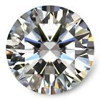 Loose Moissanite Stone GH White Color Round Cut Excellent Grade VVS1