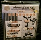Almost Done Scrapbook FAMILY Page Kit 12x12