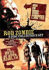 NEW SEALED Rob Zombie 3 Disc Collectors Set DVD Region 1