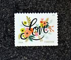 2018USA 5255 Forever Love Series Flourishes Single Stamp Postage Mint NH