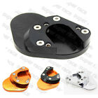 CNC Side Stand Kickstand Enlarge Plate Pad For KTM RC125 RC200 RC390 2014-2015