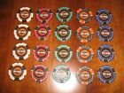 20 5 Diff HARLEY DAVIDSON Poker Casino Chips Golf Ball Markers Dealers Lot