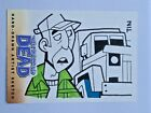 The Walking Dead Artist Sketch Card DALE by TIN Comic Series 2
