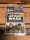Star Wars Episode 1 Read along Cassete And Book w micro Machines ship NIP