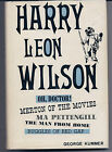 Harry Leon Wilson Biography George Kummer signed 1st Edition American Hardcover